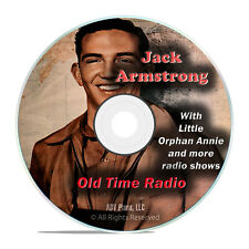 Jack Armstrong, 966 Old Time Radio Shows, Teenage Sitcom Show DVD G68