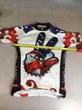 Primal Mens Size Medium M Cycling Jersey Usa (6910-92)