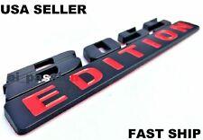 BOSS EDITION Black Fit All Models Trucks Yacht logo Sign CUSTOM EMBLEM Bumper 3D