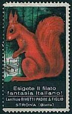 BIELLA - Chiudilettere d'epoca: FILATO FANTASIA ITALIANA  - Strona