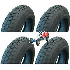 4x GoKart Reifen + 4x Schlauch 4.80/4.00-8 Go Kart zB Dino Berg GoKarts 400x100