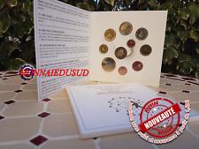 Coffret BU 1 Cent à 2 Euro Slovénie 2012 + 2 Euro CC et 3 Euro
