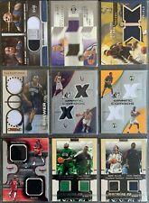 18 Basketball Dual-Jersey-Cards in einem Lot: Brewer, Pierce, Stojakovic u.A.