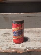 Rare 1800s Keens Mustard Round Spice Tin Paper Label Mixed Spice