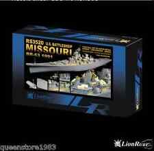 LionRoar Photo-etched details 1/350 U.S. BATTLESHIP BB-63 MISSOURI 1991