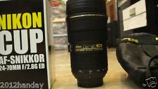 Nikon Zoomable Zoom AF-S 24-70mm f/2.8G Lens 1:1 Thermos Coffee Cup Mug