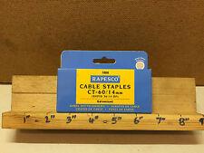 Rapesco 14mm 1000 Grapas REF N ~ 60/14mm Cable (Rapid 36/14 DP) Galvanizado