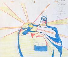 BRUCE TIMM rare BATMAN Original Production Drawing HOUSE & GARDEN BTAS WB COA