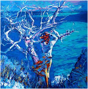 Nicola Simbari, MEDITERRANEE, print on Canvas