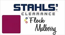 "12"" x 5 Yards - Stahls' Flock Heat Transfer Vinyl HTV - Mulberry"