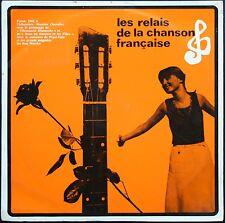 FINALE RELAIS CHANSON FRANCAISE 25CM 1965 Interprètes de BREL / LEGRAND