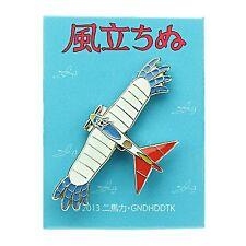 Studio Ghibli Kaze Tachinu The Wind Rises Pin Badge Bird Airplane KZ-02 Pinbadge
