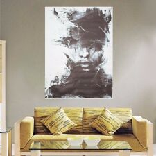 Modern Abstract Vogue Black Art Oil Painting On Canvas Wall Decor No Framed