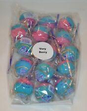 Set of 15 Linda's Lollies Very Berry lollipops