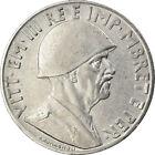 [#901709] Münze, Albania, Vittorio Emanuele III, Lek, 1939, Rome, VZ+, Stainless