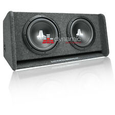 "JL AUDIO CP210-W0v3 Dual 10"" 10W0v3 Sub Loaded Ported Enclosure Gray Carpet New"