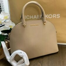Authentic Michael Kors  large Emmy Dome Satchel Bag