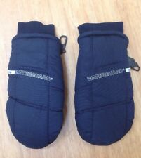 Kombi Junior's LARGE Mittens - Navy Blue - Leather Palm - Waterguard Thermolite