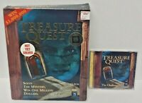 Treasure Quest: The Challenge CD-ROM Game Windows PC Mint Disc Big Box Complete