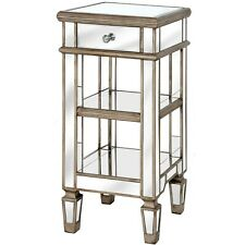 BELFRY 1 DRAWER MIRROR COCKTAIL TABLE IN GOLD HANDCRAFTED STUNNING LOOK FOR ROOM
