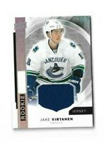 2015-16 UPPER DECK PREMIER ROOKIE JERSEY #R43 JAKE VIRTANEN CANUCKS