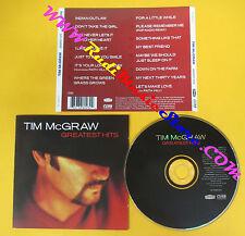 CD TIM MCGRAW Greatest Hits 2000 Europe CURB RECORDS  no lp mc dvd (CS51)