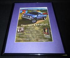 2010 Toyota Tacoma 4x4 Framed 11x14 ORIGINAL Advertisement