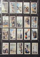 1939 Will's Cigarettes LIFE IN THE ROYAL NAVY Tobacco Cards SET of 50 VG/FN