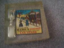 Lucite Mabel's Whorehouse Las Vegas timer paperweight souvenier hour glass