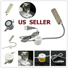 LED Sewing Machine Light Working Gooseneck Lamp 30 LED with Magnetic Base