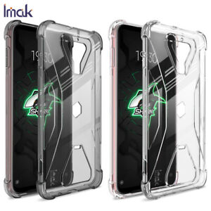 IMAK Clear Shockproof Soft Gel TPU Back Cover Case For Xiaomi Black Shark 3 / 3S