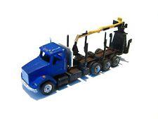 Z Scale Kw Type Tri-Axle Logging truck Kit for Model Railroad (4023)