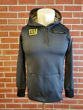 Nike Therma Fit Salute to Service New York Giants Hoodie Sweatshirt Mens Small