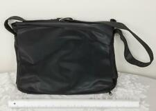 Vintage Black Crossbody Bag Purse by Designer Linda Dano for Laptop etc. jp