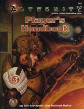 NEW Alternity Players Handbook 1998 TSR 2800 Hardcover Bill Slavicsek R Baker