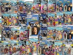 """STAR TREK and STARGATE 5"""" Carded Figure Selection - Free UK Postage"""