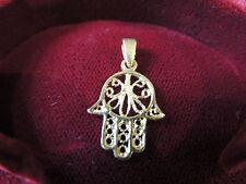 Pendentif -main de Fatima- or 18 carats