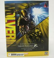 Marvel Universe Variant Play Arts Kai WOLVERINE Action Figure NIB Sealed Box