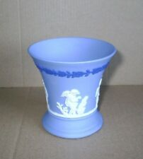 Wedgwood Jasperware Tri Coloured Four Seasons Vase