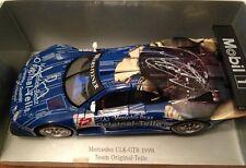 1:18 Maisto Mercedes CLK GTR 1998 Autograph RAR