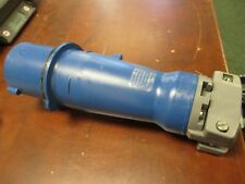 Hubbell Plug 560P9W 60A 208V Watertight *Missing Bushing* Used