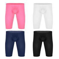 Men's Compression Shorts Running Athletic Gym Tights Pants Swim Shorts Underwear