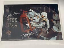 More details for john glenn - signed 10x8 photo - nasa astronaut - mercury / sts-95 - certified