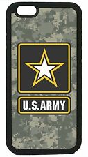 US Army Camouflage Camo Case Cover for iPhone 4 4s 5 5s 5c 6 6 Plus Military