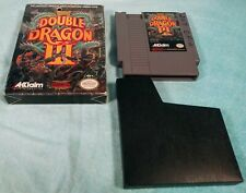 Double Dragon III: The Sacred Stones (Nintendo NES, 1991) with Box - Tested!