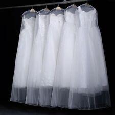 Extra Large Soft Cloth Wedding Dress Dustproof Transparent Foldable Storage Bag