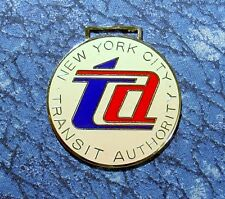 New York City Transit Authority Railroad Train Logo Watch Fob
