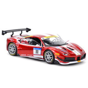 Bburago 1:24 Ferrari 488 Challenge #11 2017 Formula Diecast Model Racing Car NIB