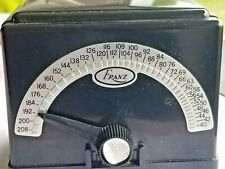 Vintage Working Franz Electric Metronome Lm-4 Black 4 Watts Bakelite Made in Usa