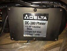 NOS Delta DC-380 Planer Motor p/n 1346438 3 ph, 3 hp, 230 v, 3450 rpm w/switch